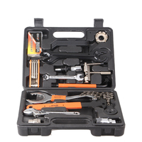 Mountainous Bike Toolkit Combination Bicycle Toolbox Maintenance Repair Portable Tire Repair Vehicle Disassembly LX8010Z