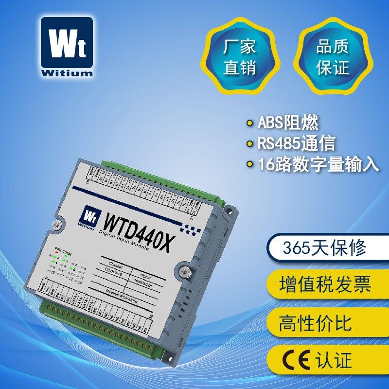 Rs485io Module Data Acquisition Module 485 Communication Module Modbus-RTU Module WTD440X