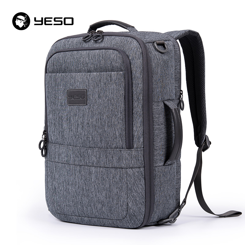 YESO Multifunction Laptop Backpack Men 2019 Large Capacity Business Casual Backpacks Anti Theft 17 3inch Computer