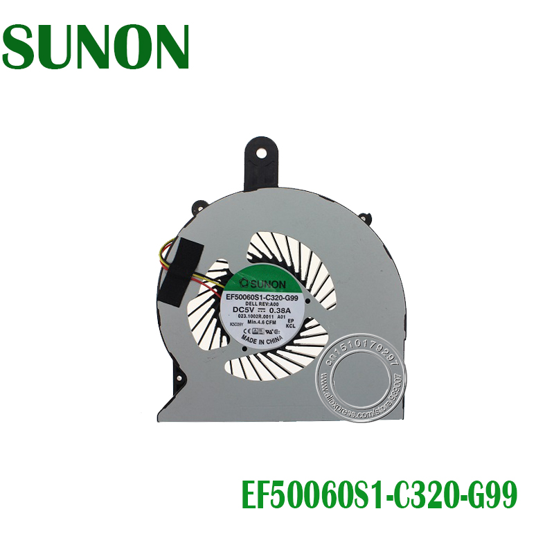 Brand New Laptop Cpu Fan For DELL 15-3558 14R-5455 EF50060S1-C320-G99