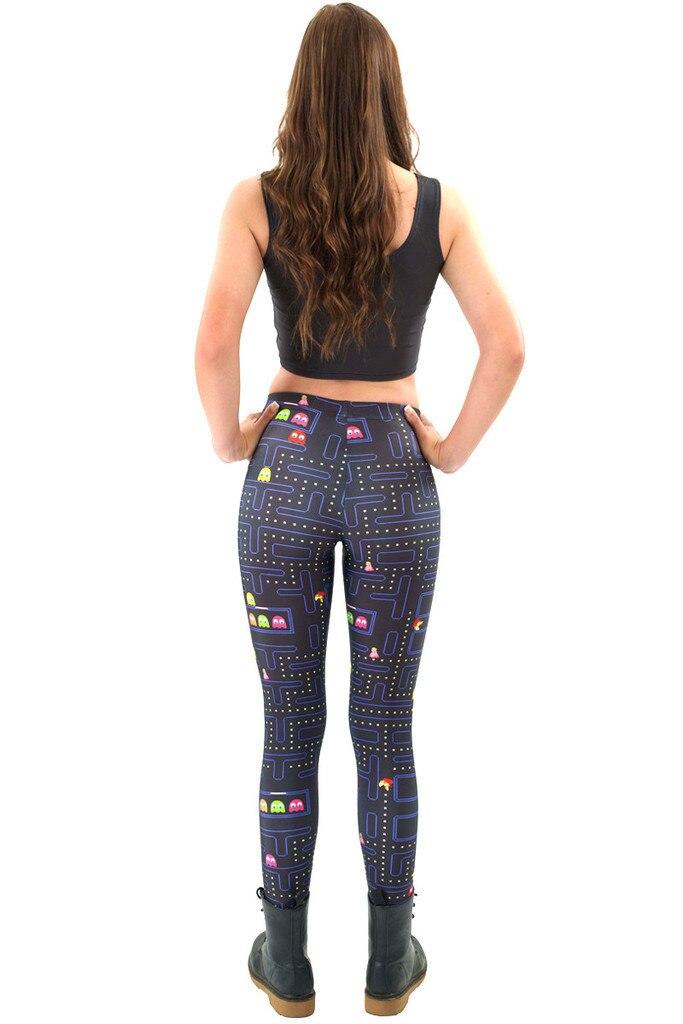 7f46405ca99356 Hot Sale Digital Batman prints Leggings For Women New 2016 Fashion Slim  Cartoon Games Super Mario Printed Elastic Pants Trousers-in Leggings from  Women's ...