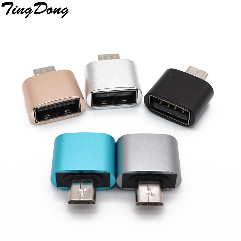 Micro USB OTG To USB Adapter For Samsung For  Xiaomi For Huawei Converter Camera Tablet Micro USB Male OTG To USB Female Adapter