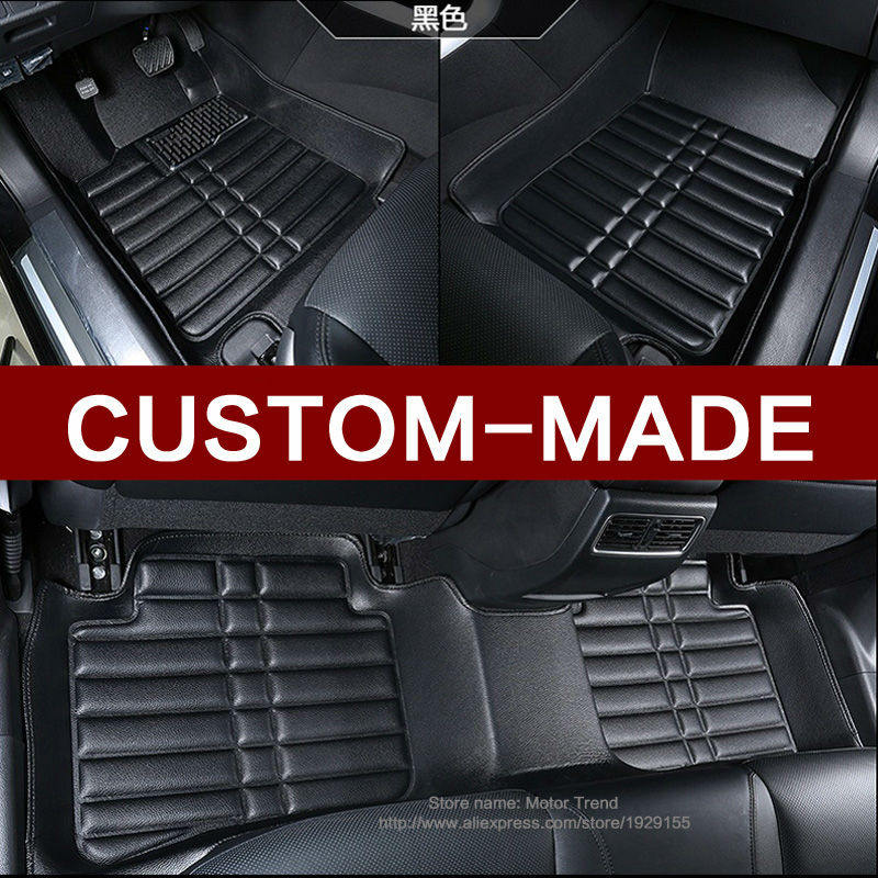 Custom fit car floor mats for Dodge journey JCUV Caliber 3D car-styling heavy duty all weather protection carpet floor liner lunda custom fit car floor mats for porsche cayenne suv 911 cayman macan panamera 3d car styling heavy duty carpet floor liner