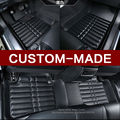 Custom fit car floor mats for Dodge journey JCUV Caliber 3D car-styling heavy duty all weather protection carpet floor liner