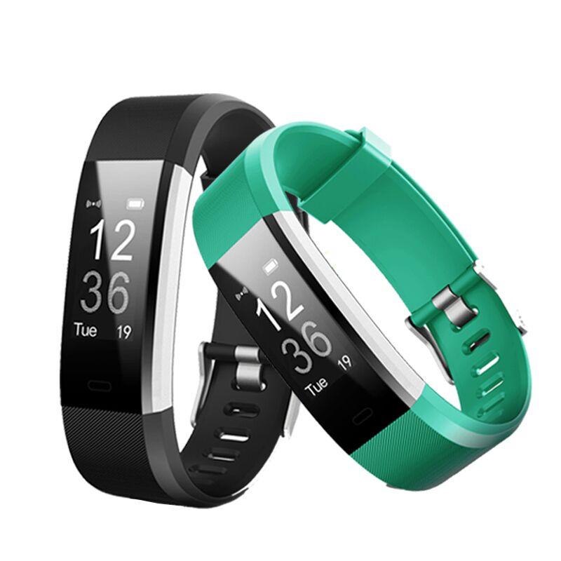 Nova ID115HR MAIS Inteligente Pulseira Heart Rate Monitor de Calorias Pedômetro Rastreador De Fitness Do Bluetooth Esportes Relógios para Homens e Mulheres