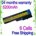 Preto 6 células bateria do portátil para lenovo g550 g555 jigu n500 v450 3000 g430 v460 ideapad b460 b550 g555 y430 g430 g450 g455 g530