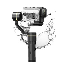 G5GS Handheld Gimbal Stabilizer for Sony AS50 AS50R Sony X3000 X3000R Splash Proof  for 130g-200g SONY Camera