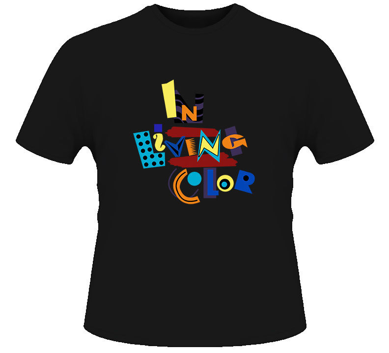 In Living Color 90s Tv Show T Shirt 2017 New Pure Cotton Short Sleeves Hip Hop Fashion Mens T-Shirt Fashion Men T Shirt image