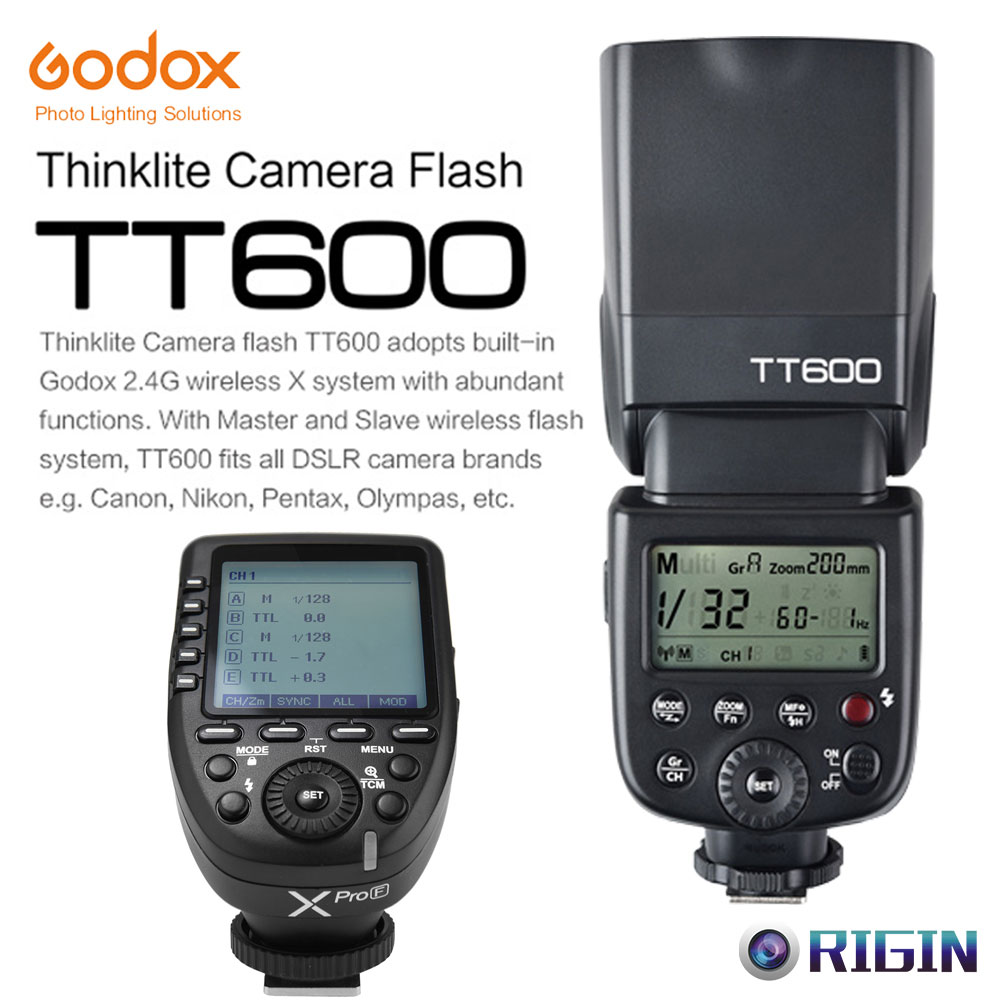 Godox TT600 GN60 HSS 1/8000s Camera Flash Speedlite+2.4G Wireless X System Xpro-F Transmitter Kit For Fuji earth 2 society vol 4 life after death