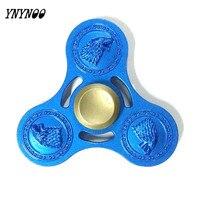 YNYNOO Fidget Toys Heavy EDC Finger Spinner Game Of Thrones Spinner Hand Fidgets Spinner Metal For