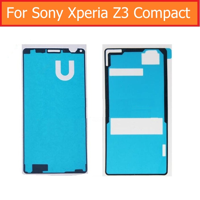 Original Display Adhesive Tape for Sony Xperia z3 mini M55W D5803 D5833 rear glass housing Waterproof glue for SONY Z3 compact