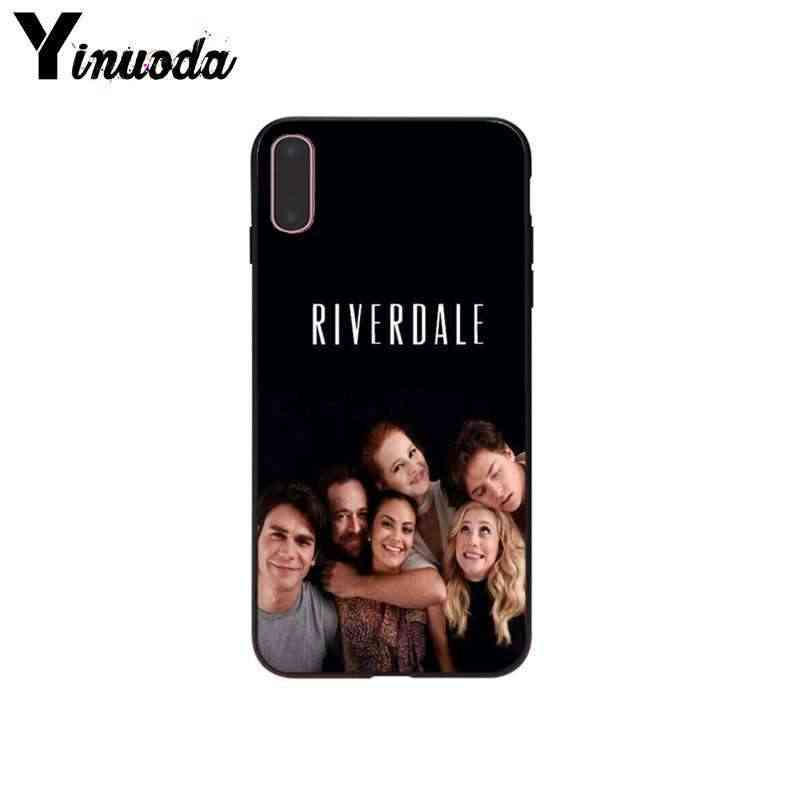 Yinuoda TV Riverdale Easy to install Mobile Case for Apple iPhone 8 7 6 6S Plus X XS MAX 5 5S SE XR Cell Cases