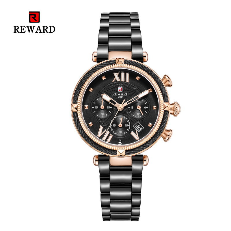 REWARD Fashion Sport Women Watch Top Quality Luxury Quartz Watches Clock With Calendar  JD-RD63084L