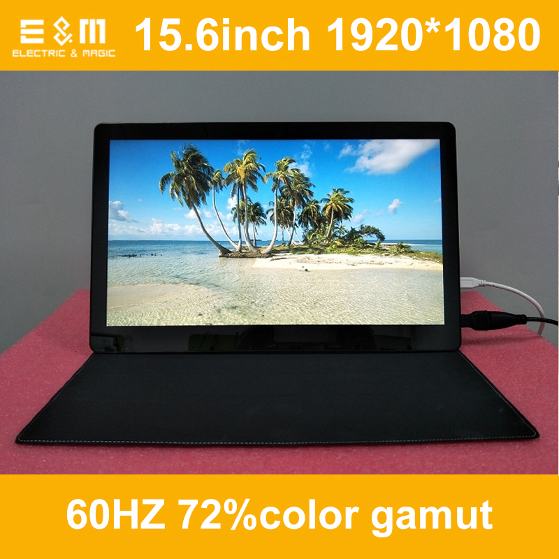 15.6 Inch 1920*1080 Capacitive Touch Monitor IPS Game Screen Aerial Display 5V Power HMDI Portable Raspberry Pi 3 NS Xbox PS4