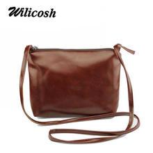 2016 New fashion pu leather women handbags brand crossbody bags casual women shoulder bags Vintage women messenger bags XB006