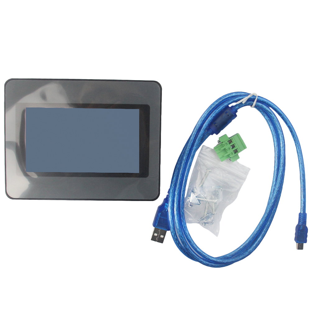 4.3 HMI Touch Screen ET050 eView Touch Panel New With Free USB Cable 4 3 hmi kinco eview et050 480 272 with free programming cable