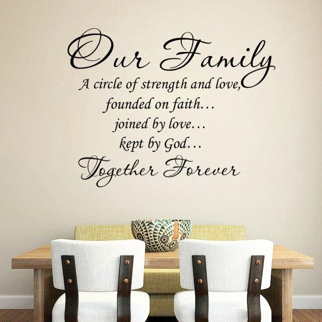 A nossa Família Unida Para Sempre citações Carta Padrão de
