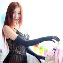 Sexy Nylon Lace Seamless Pantyhose Women Gloves Mitten Colou