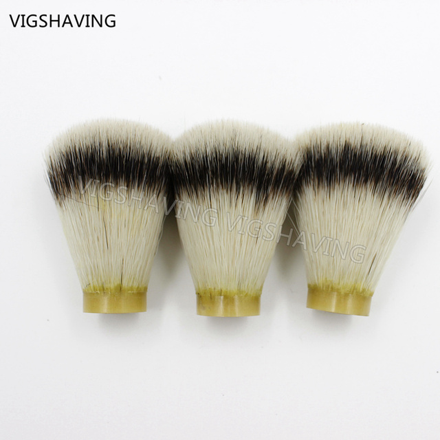26/65mm 3pcs synthetic Hair Shaving Brush Knots