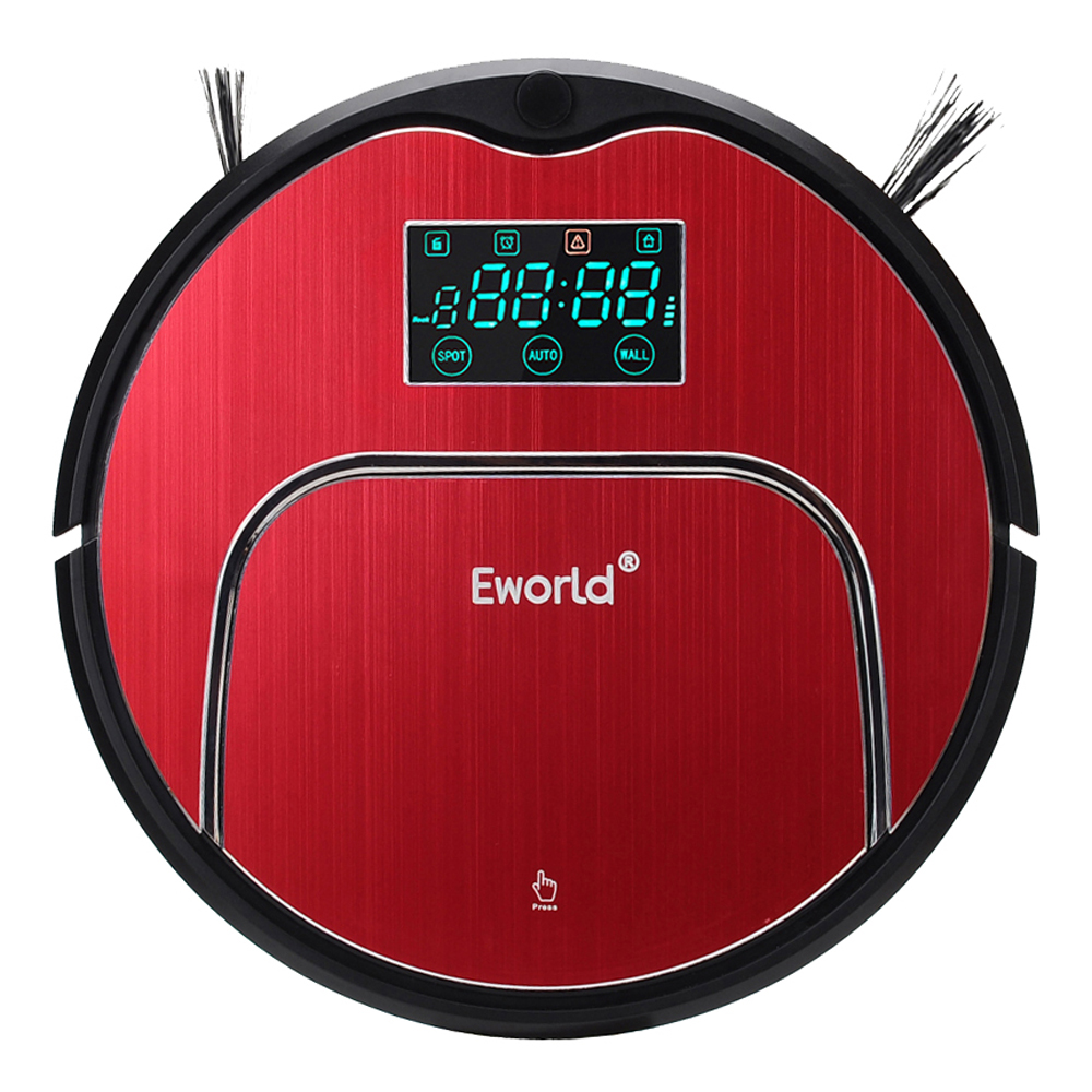 цена на Eworld M883 Clean Robot Vacuum Cleaner Household Vacuum Cleaner With Remote Controller Cleaning Brush and Senser For Clean Floor