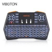 VIBOTON I8 Plus Handheld Mini Wireless Keyboard Backlit TouchPad For Andriod Google TV Box XBOX360 Gaming