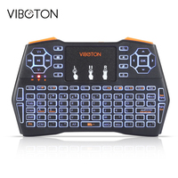 VIBOTON I8 Plus Handheld Mini Wireless Keyboard Backlit TouchPad For Andriod Google TV Box XBOX360 Gaming