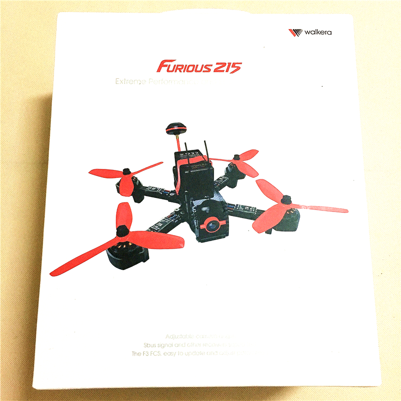[in stock] walkera furious 215 rc racing drone bnf( without transmitter) rc  quadcopter with 600tvl camera and f3 flight control-in camera drones from