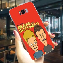Phone Case For Galaxy A7 Beavis and Butthead Werewolf Butt Cover A3/A5 A6 A8 Plus A9 2018 A10 A20 A30 A40 A50 A70 Cases Back