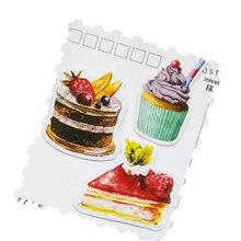 20 упаковок/партия милые бумажные дневники для торта запечатывание