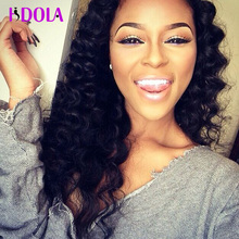 Amazing Stema 7a Peruvian Deep Wave With Closure 4 Bundles Brazilian Virgin Hair With Closure Water Wave Closures With Bundles