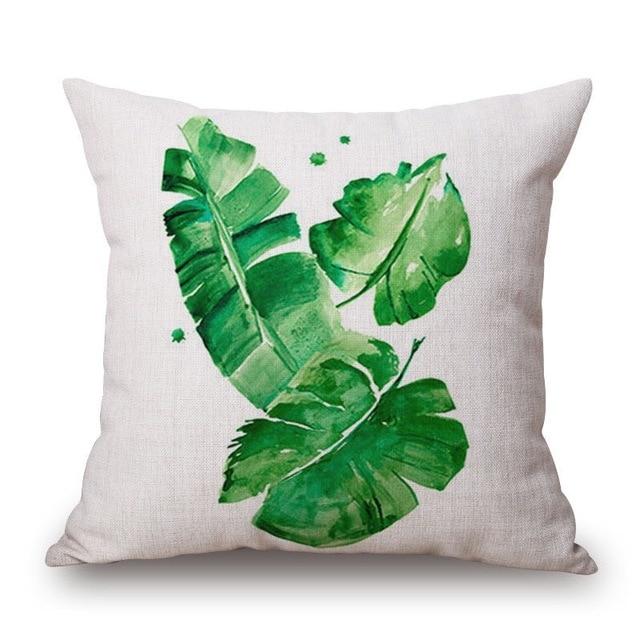 Cushion Cover Printed Tropical Throw Pillows Embroidered Cushions Awesome Tropical Throw Pillow Covers