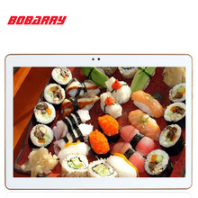 Bobarry tablet pc android 10.1 pulgadas llamada de teléfono 4g tablet pc octa core 4G RAM 64 GB ROM SIM GPS IPS Tablet pc FM con teclado