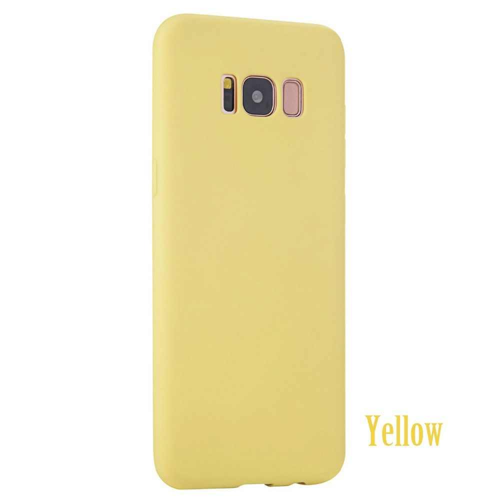 מקורי רך סיליקון מקרה עבור סמסונג גלקסי S6 S7 קצה S8 בתוספת S4 S5 הניאו אולטרה דק חמוד סוכריות סלולרי טלפון כיסוי אחורי