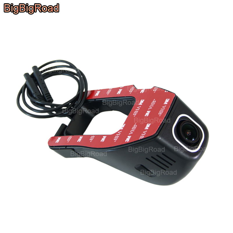 BigBigRoad Car Wifi DVR үшін Volkswagen Transporter t5 magotan B6 B5 Caravelle t5 Қос Камера Car Video Recorder
