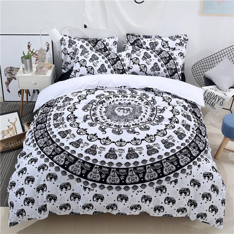 Home & Garden 2018 Ganesha Elephant 3d Bedlinens Microfiber Polyester Bedding Set Us Twin Full Queen King Size Duvet Cover Pillowcases Bedding Sets