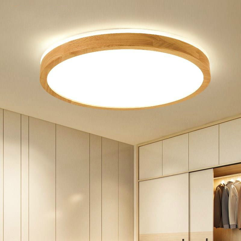 Nordic living room LED ceiling lamp modern simple solid wood dining room bedroom home ceiling light Lighting fixture mx5241423Nordic living room LED ceiling lamp modern simple solid wood dining room bedroom home ceiling light Lighting fixture mx5241423