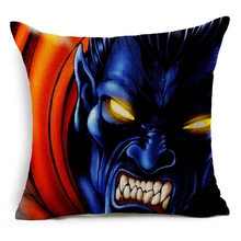Hot Sale Pillow Covers Hot Sell X-men Series Topic Pattern New Fashion 45X45CM Linen Pillow CoverHome Decorative Linen Cushion