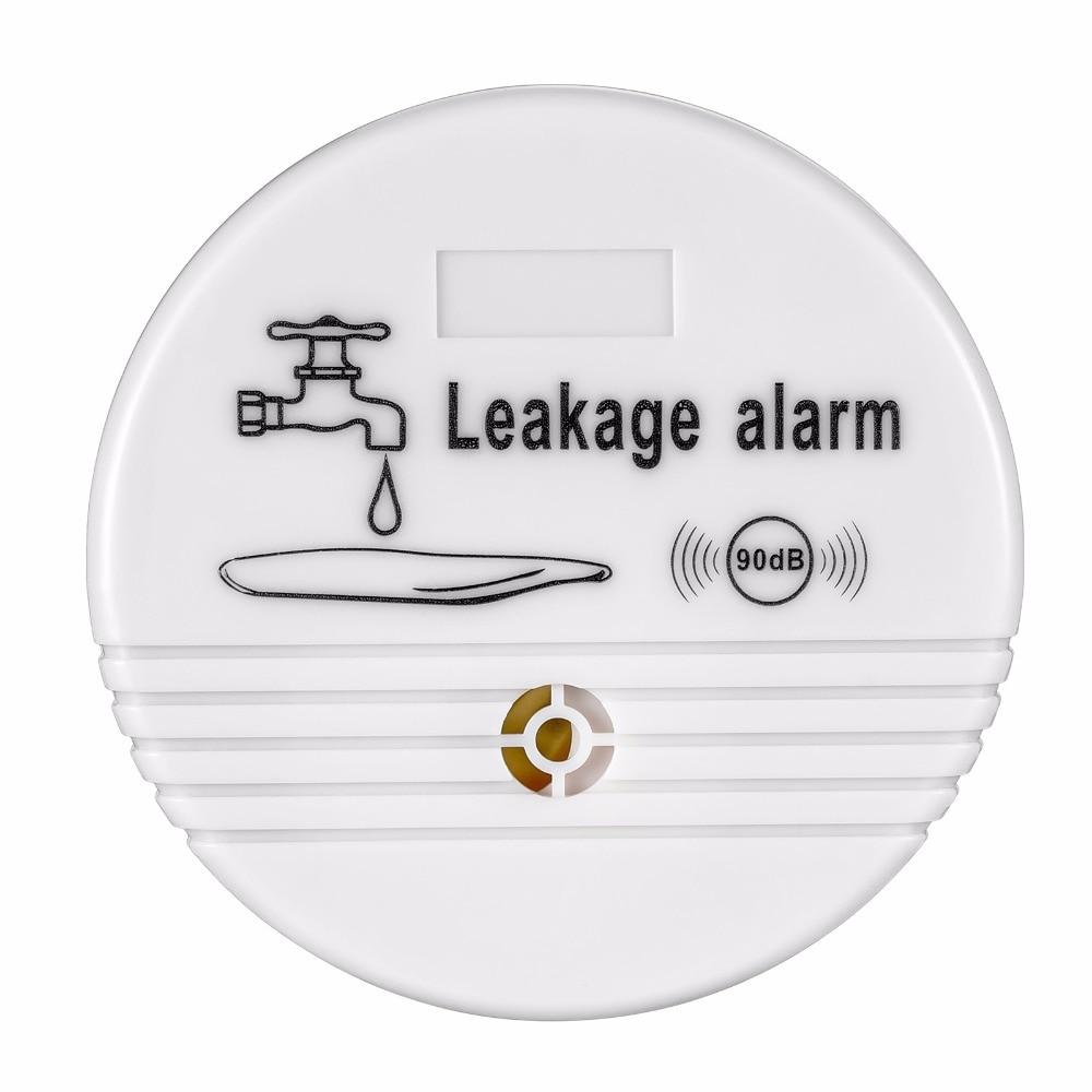 Independent Wireless Water Leakage Sensor 90dB Volume Loudly Alert Alarm Water Leak Alarm Detector for Home Kitchen Toilet Floor цены