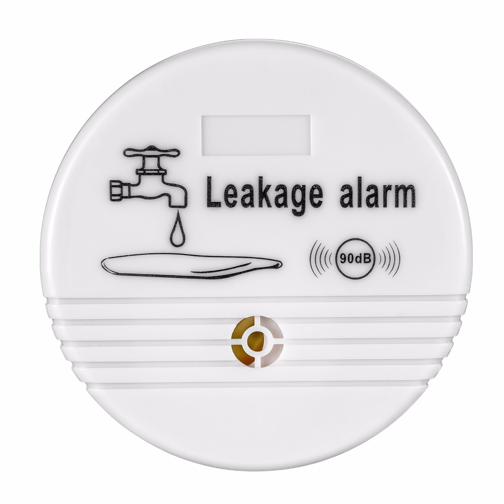 купить Water Leaks Alarm Security Wireless Water Level Overflow Leakage Alarm Alert Sensor Detector  Washing Machine Drainage Alarm недорого