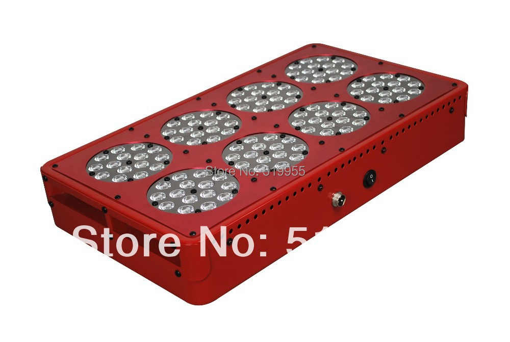 Apollo 8 600W LED grow light full spectrum 10bands Red 660nm Blue 450nm hydroponic plant growing lamp cultivo indoor herb flower