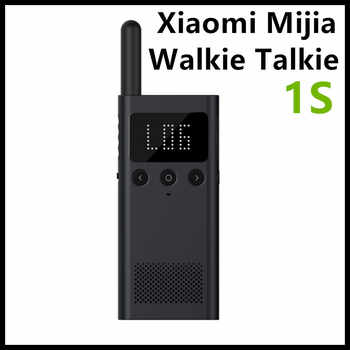 Update Version Xiaomi Mijia Smart Walkie Talkie 1S With FM Radio Speaker Standby Smart Phone APP Location Share Fast Team Talk - DISCOUNT ITEM  0% OFF All Category