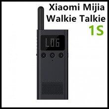 Обновленная версия Xiaomi Mijia Smart Walkie Talkie 1 s с fm-радио динамик ожидания смартфон приложение расположение поделиться быстро команда говорить