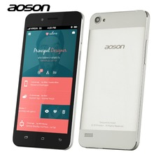 Clearance-Sale Brand Aoson G507 5 inch Smartphone Quad Core MTK6582 RAM 1G ROM 8GB Cam 5MP 3G Unlocked Android 4.4 Mobile Phone