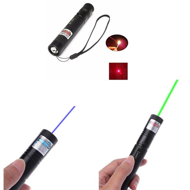 1 יחידות G301 5 mW אדום/ירוק/כחול 650nm/532nm/405nm לייזר עט פוינטר 301 לייזר קרן גלויה פוקוס מתכוונן w/בטיחות נעילת מפתח