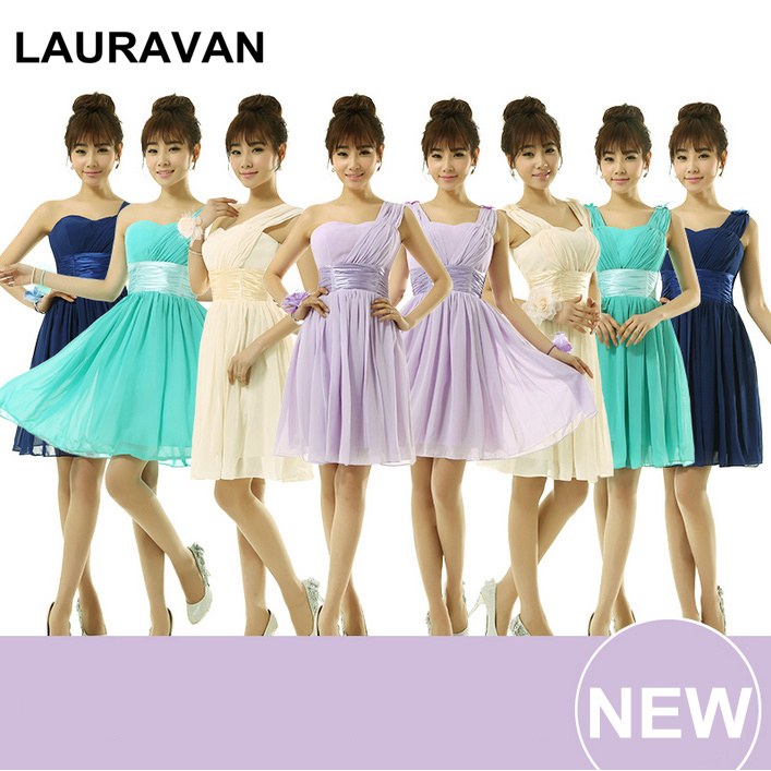 US $22.7 5% OFF|cheap plus size short corset bridesmaid dresses in lilac  turquoise green royal blue gown high fashion dress 2019-in Bridesmaid  Dresses ...