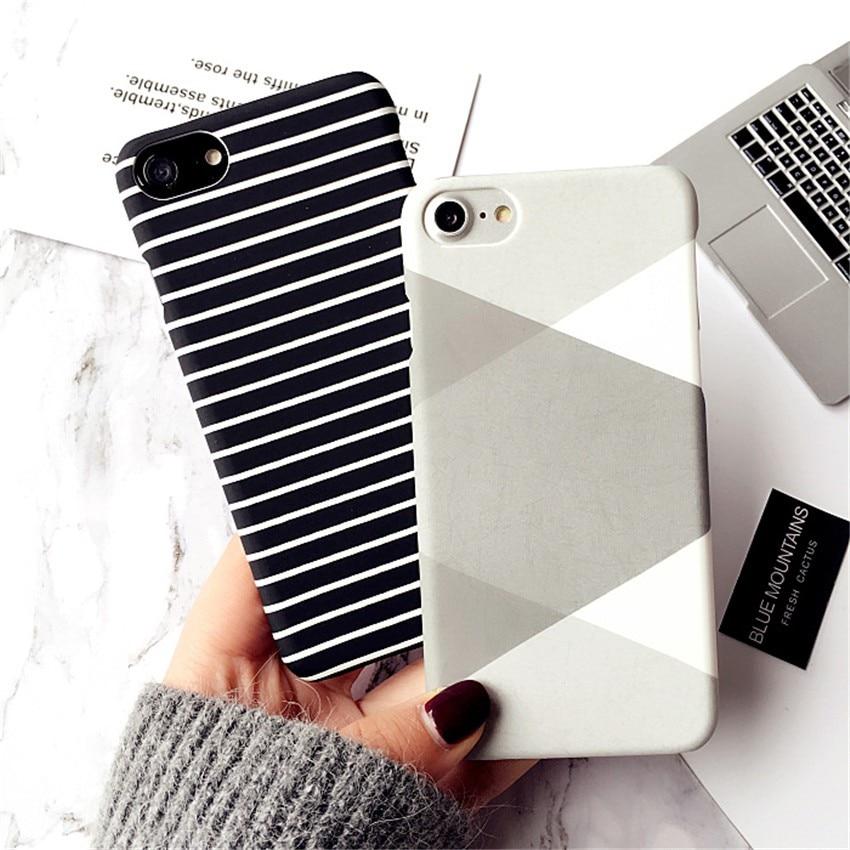 Pouzdro pro iphone 7 7 plus černý bílý zebra pruh malovaný - Příslušenství a náhradní díly pro mobilní telefony