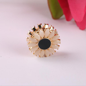 Image 1 - WEIYU 12pcs Strong Magnet Brooch Muslim Headscarf Abaya Khimar Magnetic Hijab Scarf Magnet Pin Sun Flower Brooches Pin Jewelry