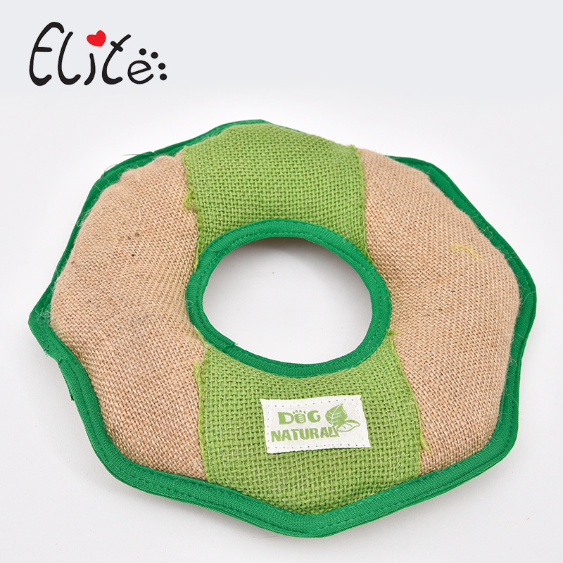 Elite Pet Dog Chew Toys Teeth Cleaning Cotton Linen Ball Rope Resistance To Bite Pet Toy Training Game And Chewing For Puppy