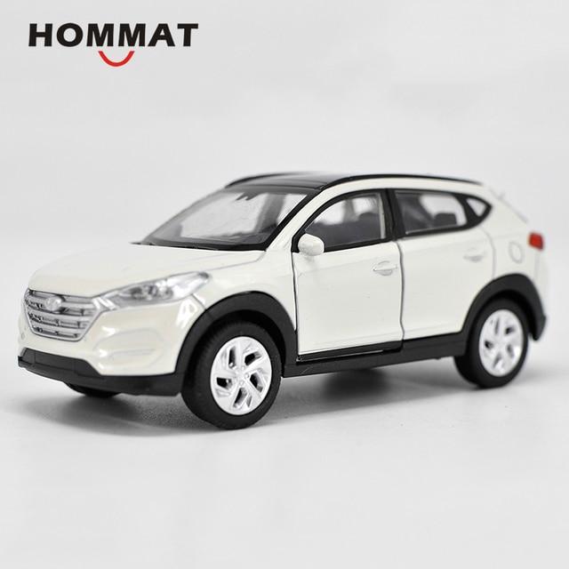 Hommat Simulation 1 36 Hyundai Tucson Suv Car Vehicle Alloy Diecast