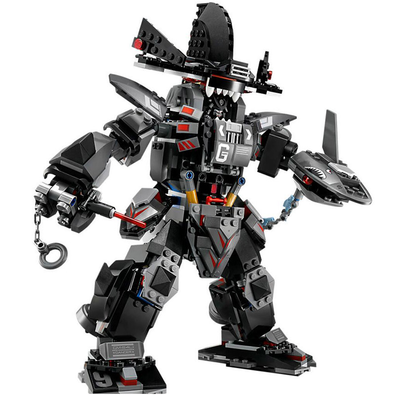Бела 10719 серии ниндзя 70613 Гарма меха человек мастера Кружитцу Черный Самурай строительных блоков игрушки совместим с Legoings